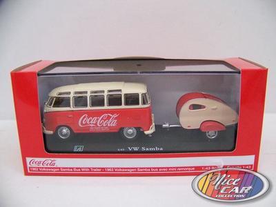 Volkswagen Samba Bus 1962 avec Trailer