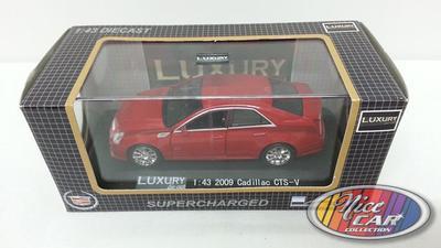 Cadillac CTS-V 2009 avec présentoire inclus