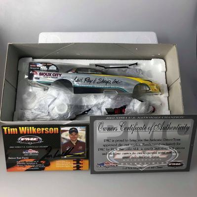 NHRA Pontiac Firebird 2003 Tim Wilkerson AUTOGRAPHIÉ (#167)