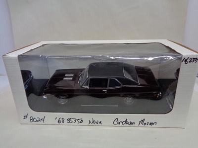 1968 CHEVY NOVA SS 350  MAROON LIMITED GMP