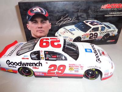 Kevin Harvick #29 GM Goodwrench/ Black