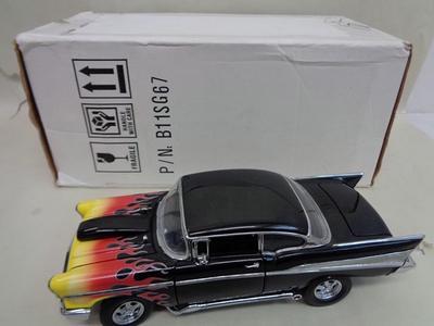 1957 Chevrolet Bel Air Hot Rod  #79 FRANKLIN MINT