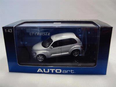 Chrysler PT Cruiser silver ,Autoart