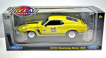 #169 / 1970 Ford Mustang Boss 302