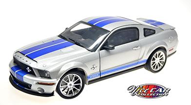 #1046  2008 Shelby GT500KR / Grise et bleu