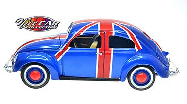 #1035 Volkswagen 1951 / Bleu, drapeau