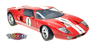 #1044 FORD GT / Rouge et blanc
