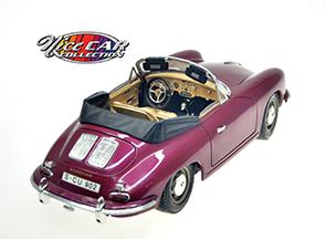 #1047 1961 Porche 356 B / Couleur Prune