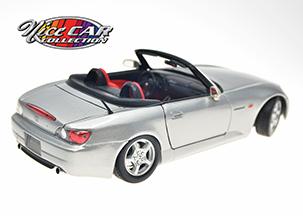 #1054  HONDA S2000 convertible / Gris métallique