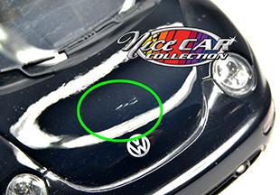 #1052 VW Beetle 1999 / Noir