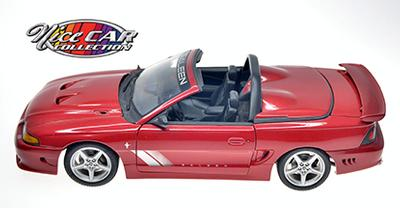 #1063  Ford Mustang SALEEN S351 Coupe Convertible / Rouge vin