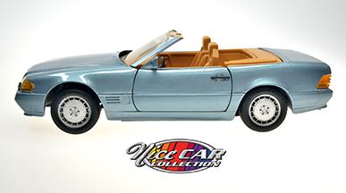 #1084 MERCEDES-BENZ 500LS / Bleu poudre