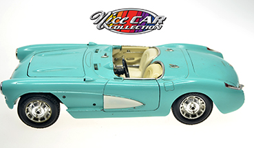 #1099 CHEVROLET CORVETTE (1957) / Bleu poudre