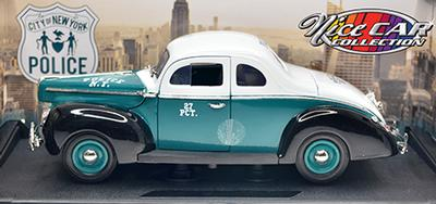#1081 1940 FORD DELUXE COUPE / Police  N.-Y.