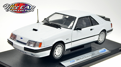 #1091  1986 FORD MUSTANG SVO / BLANCHE