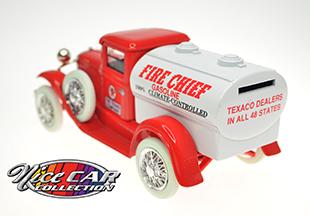 Model A Tanker Fire Chief Texaco #917  ,NEUF rare