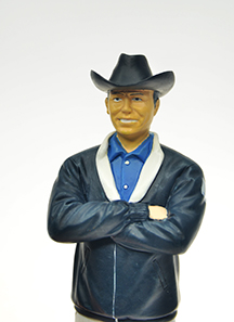 CARROLL SHELBY FIGURINE GMP #924