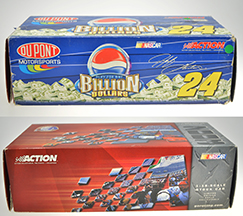 Jeff Gordon #24 Dupont /Pepsi Billion Dollar  #909  échelle 1.18