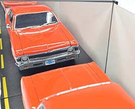 GMP 1970 Chevrolet Copo Lt1 350 Nova in Hugger Orange #959