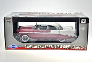 1956 CHEVROLET BEL AIR 4-DOOR HARDTOP  **Hard To Find** 955