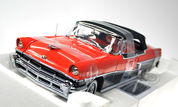 #1109 1956 Mercury Montclair Closed Convertible