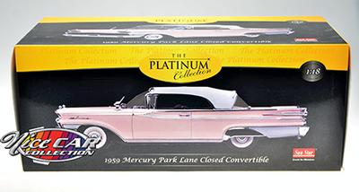 MERCURY PARKLANE 1959 CLOSED CONVERTIBLE (#213)
