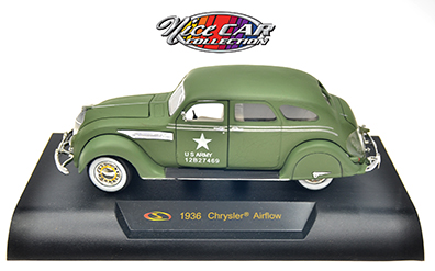 CHRYSLER AIRFLOW 1936, AVEC INSCRIPTION US ARMY (#232)