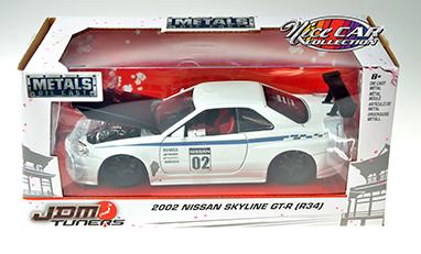 ensemble, 2002 Nissan Skyline GT-R et DVD (#324)