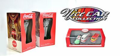 Ensemble Coca-Cola série Volks 1:72 et 2 verres  (#330)