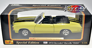 CHEVROLET CHEVELLE SS454 1971, CONVERTIBLE  (#365)