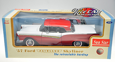 FORD FAIRLANE SKYLINER 1957, AVEC TOIT RÉTRACTABLE (#408)