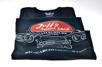 T-Shirt Large, Jeff Speed Shop (#437)