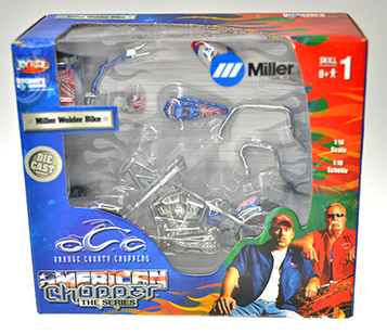 Miller Welder Bike American Chooper (#579)