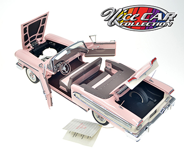 1958 Ford Edsel Pink Convertible1/24 Franklin MINT #949