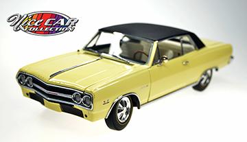 1965 Crocus Yellow Z16 Chevelle  #134