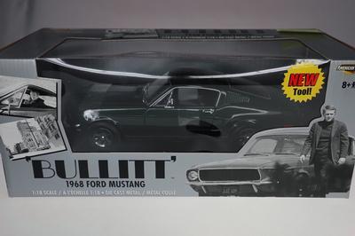 Ford Mustang 1968 BULLITT NEUF (#1102)