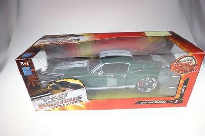 Ford Mustang 1967 Fast & Furious 1:24 NEUF (#1107)