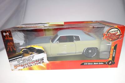 Chevrolet Monte Carlo 1970 Fast & Furious 1:24 NEUF (#1108)