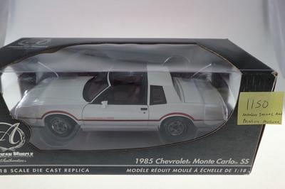 1985 CHEVROLET MONTE CARLO SS  1150