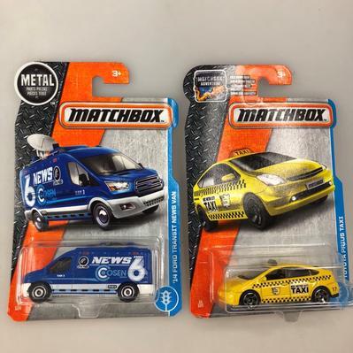 Ensemble Matchbox (2 voitures) 1:64 (#411)