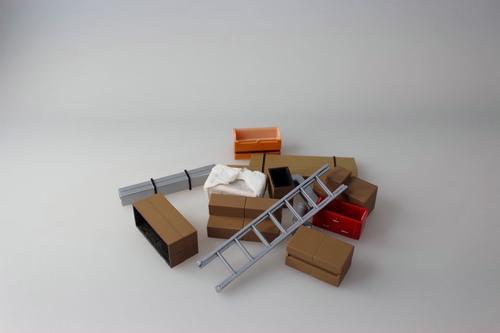 Ensemble d'accessoire 1/24 style construction