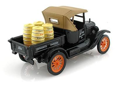 Ensemble, 1925 FORD MODEL T PICKUP  et licence  (#317)