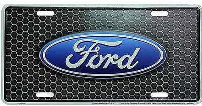 FORD TRANSIT 2015 et plaque d'auto (#339)