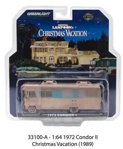 1972 CONDOR II MOTORHOME - CHRISTMAS VACATION (1989)  (#456)