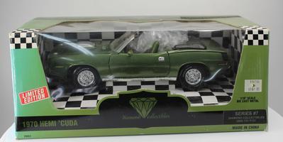 Plymouth Hemi Cuda 1970 Convertible (#358)