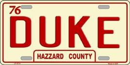 DUKE  HAZZARD COUNTY