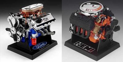 Ensemble moteur Dodge et Ford 1:18 (#1000)