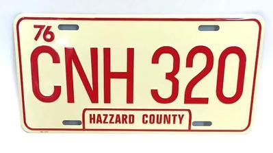 CNH 320 HAZZARD COUNTY (rare)
