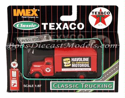 Texaco Havoline Motor Oil Delivery Truck Ford F-1 IMEX Classic 1:87 HO Diecast
