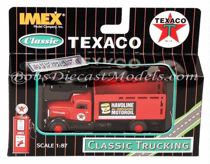 Texaco Havoline Motor Oil Peterbilt Truck IMEX Classic Trucking 1:87 HO Scale